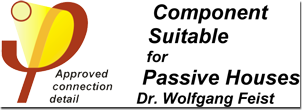 Component suitable for Passive Houses Dr. Wolfgang Feist